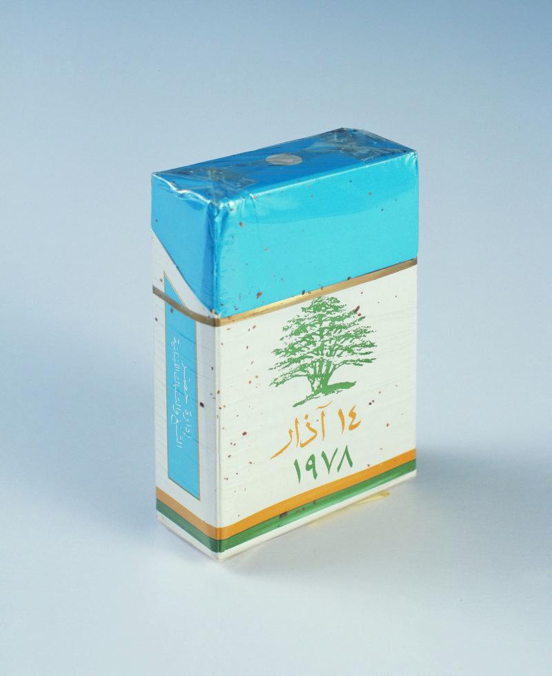 Abb. 4: Akram Zaatari: March Fourteen. Cedar Tree, 2007, C-Print, framed, 49x40cm. Courtesy the artist and Sfeir-Semler Gallery.