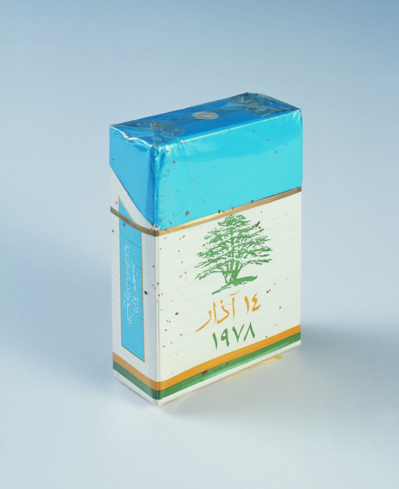 Abb. 4: Akram Zaatari: March Fourteen. Cedar Tree, 2007, C-Print, framed, 49x40cm. Courtesy the artist and Sfeir-Semler Gallery.